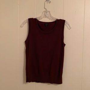 Talbots Pima Cotton Sweater Vest